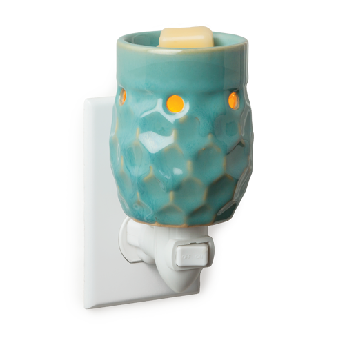 Plug-In Honey Comb Turquoise